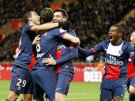 AS Monaco vs Paris Saint Germain (lusa)