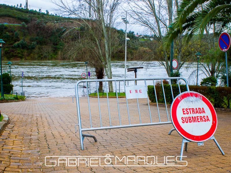 Cheias no Ribatejo (foto enviada por Gabriel Marques)