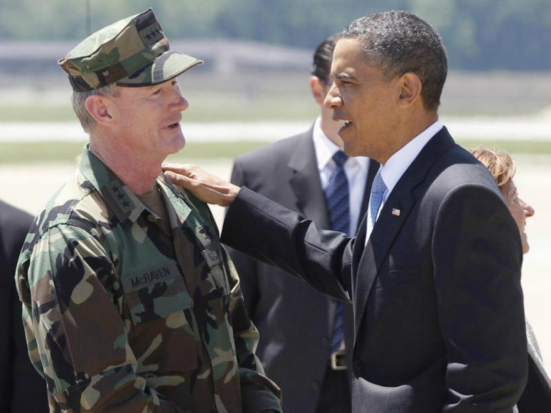 Barack Obama com William McRaven