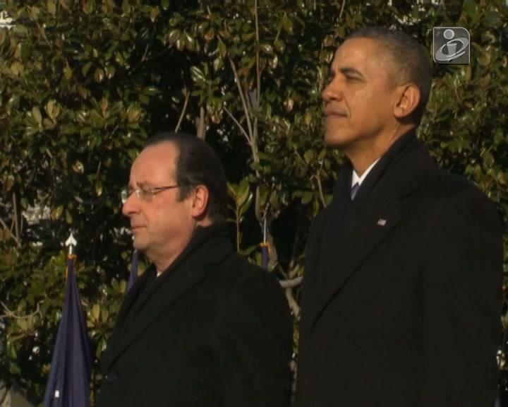 François Hollande e Barack Obama