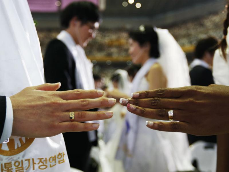 Casamento em massa na Coreia do Sul (REUTERS)