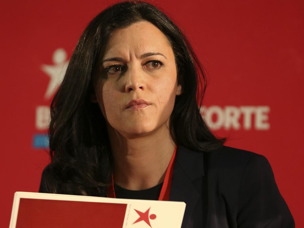 Marisa Matias na convenção do BE (Lusa)