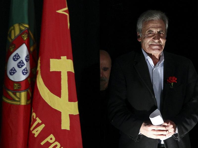 Jerónimo de Sousa, secretário-geral do PCP (Lusa)