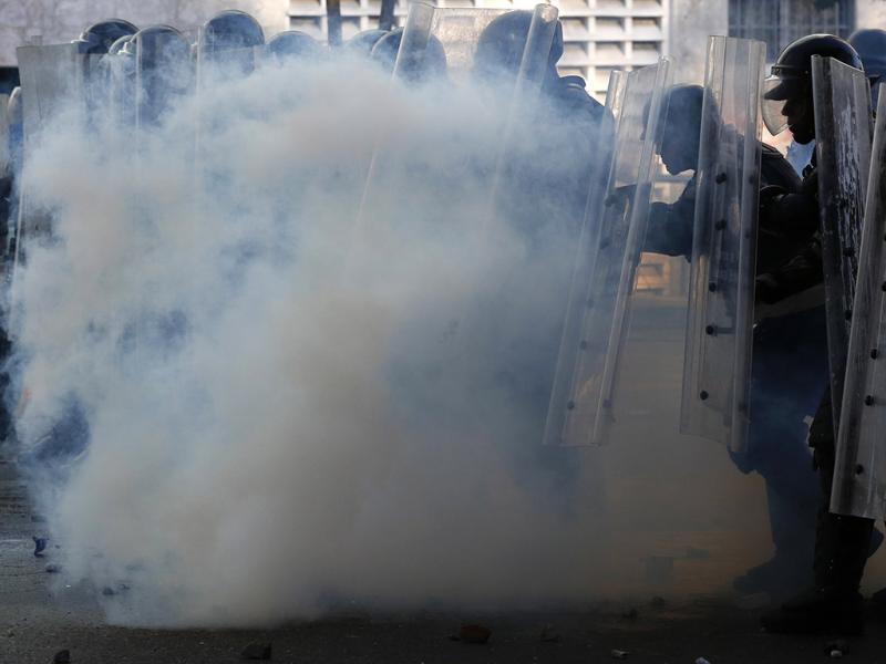 Manifestações contra Nicolas Maduro em Caracas, Venezuela (REUTERS)