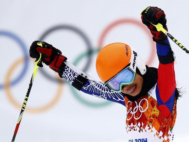 Vanessa-Mae nos Jogos Olímpicos de Inverno de Sochi (Reuters)