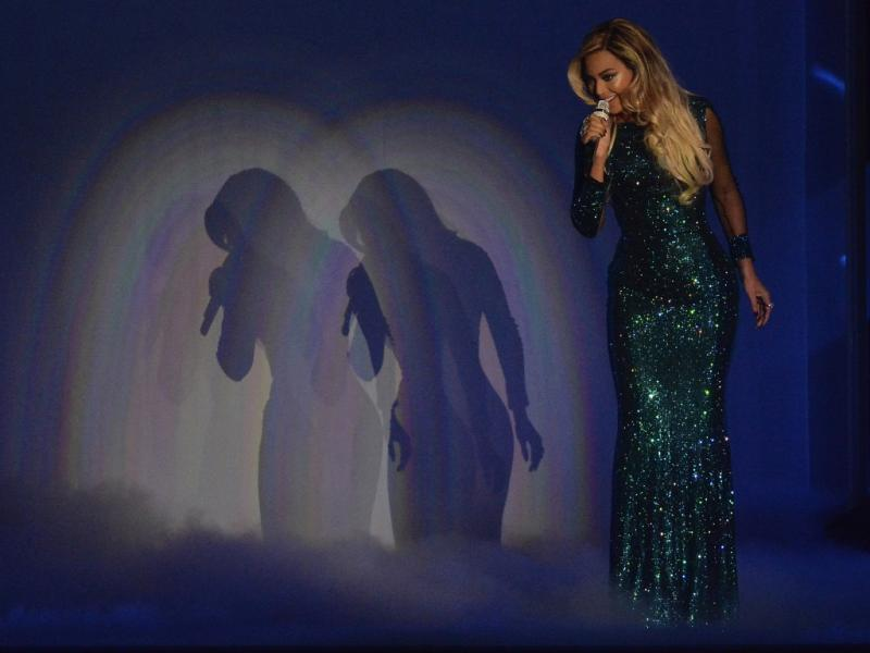 Beyoncé nos Brit Awards 2014 (Reuters)