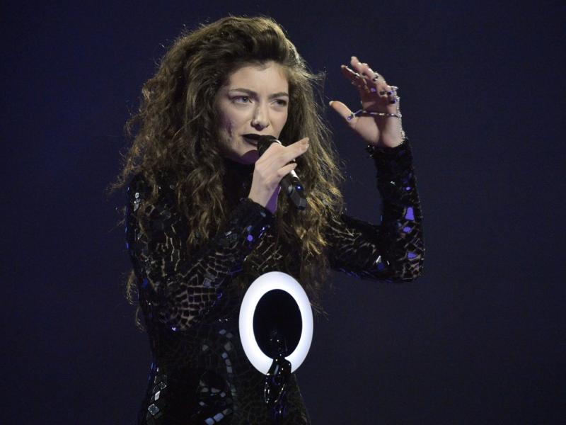 Lorde nos Brit Awards 2014 (Reuters)