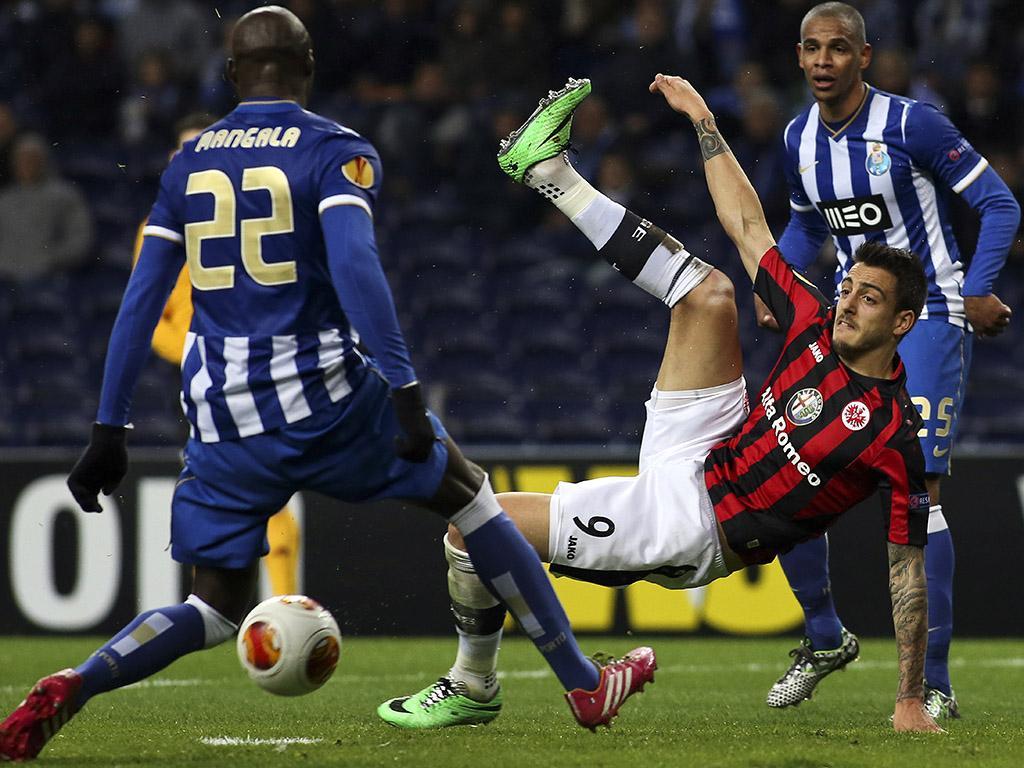 FC Porto vs Eintracht Frankfurt (LUSA)