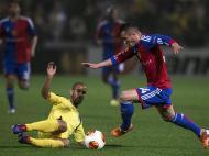 Maccabi Tel Aviv vs Basileia (EPA)