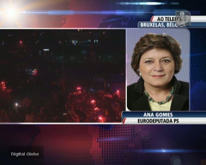Ucrânia: Ana Gomes diz que sanções que pecam por tardias