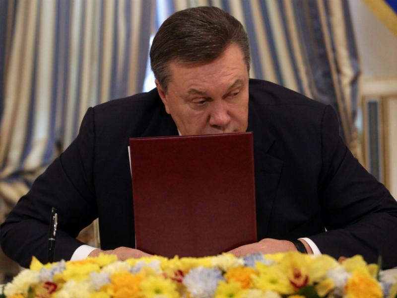 Presidente ucraniano, Viktor Yanukovich