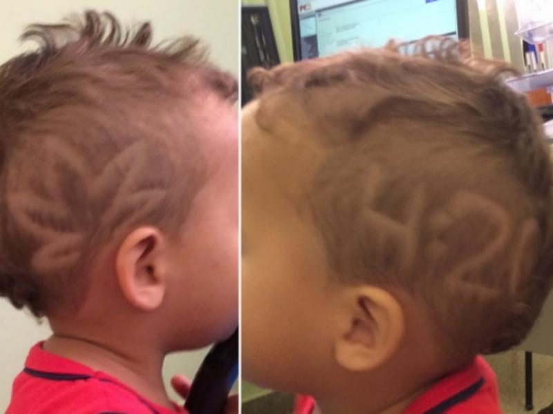 Mãe mandou cortar cabelo ao rapaz