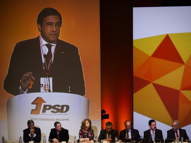 XXXV Congresso do PSD (Lusa)