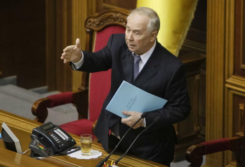 Presidente do parlamento ucraniano, Volodymyr Rybak (REUTERS/Gleb Garanich)