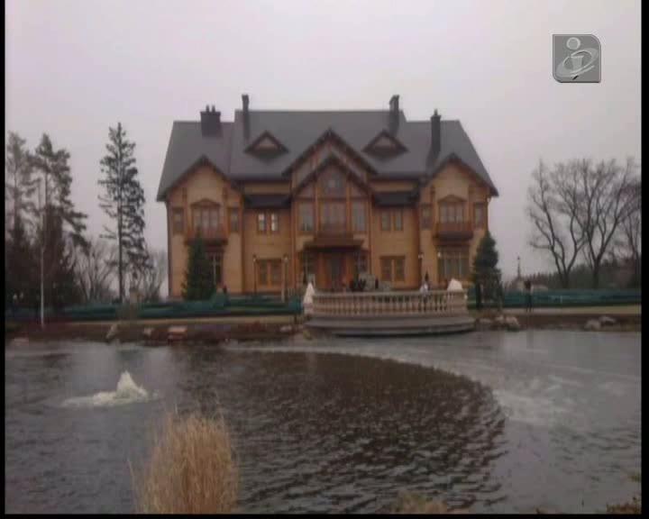 Jornalistas entram na residência de Ianukovich