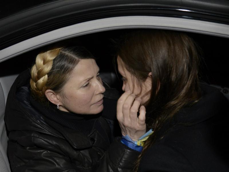 Yulia Tymoshenko libertada [REUTERS]