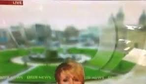 Repórter da bbc