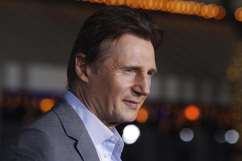 Liam Neeson - Antestreia de «Non-Stop» em Los Angeles  Fotos: Reuters