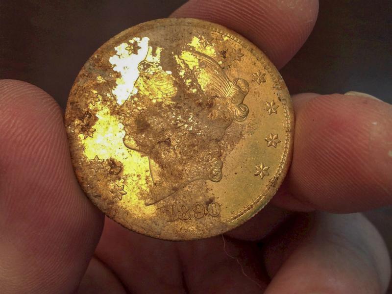 Casal encontra 7,3 milhões de euros em moedas de ouro [EPA/KAGINS INC]