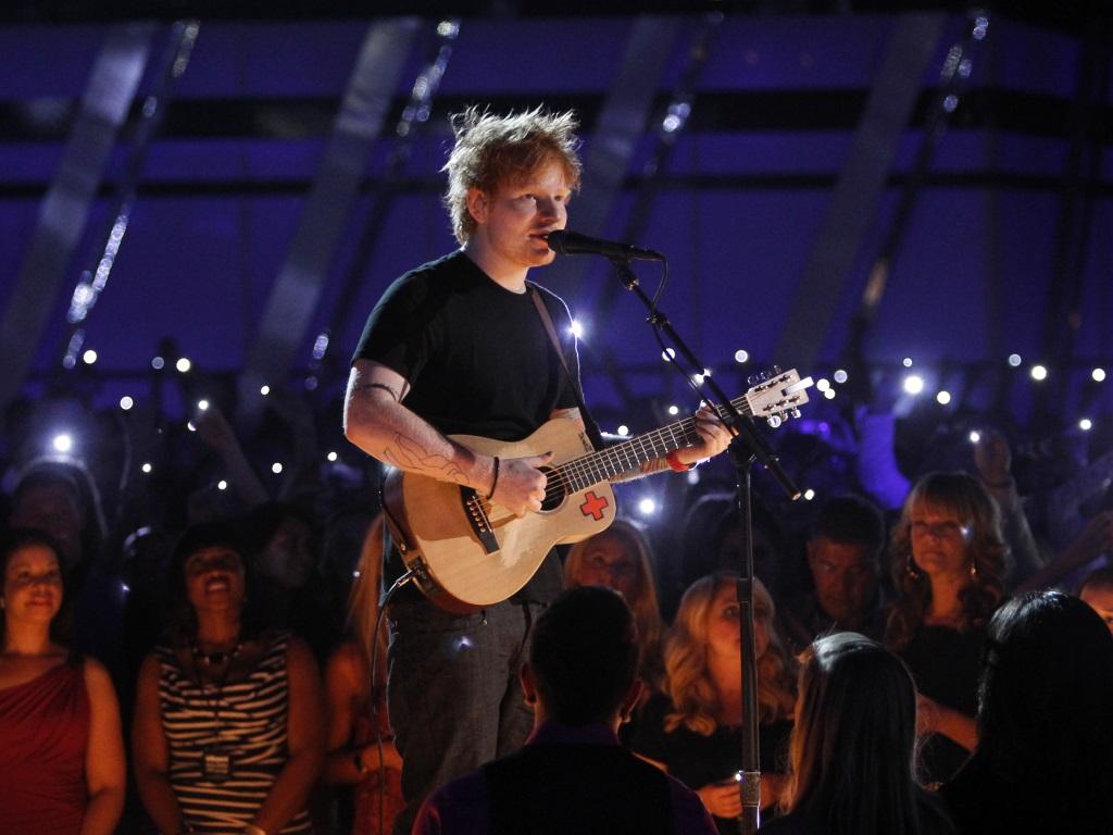 Ed Sheeran (Reuters)