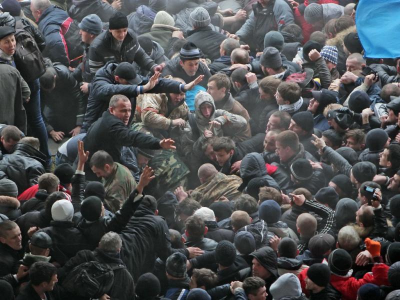 Confrontos na Crimeia, Ucrânia (Lusa)