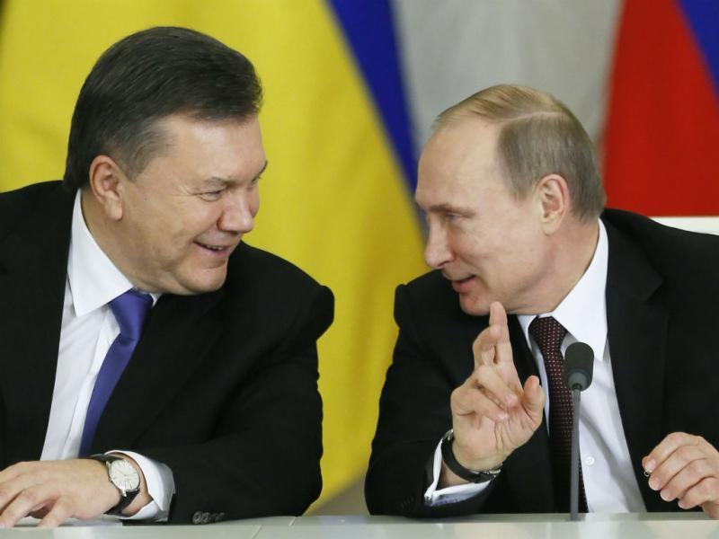 Viktor Ianukovich e Vladimir Putin (Lusa)
