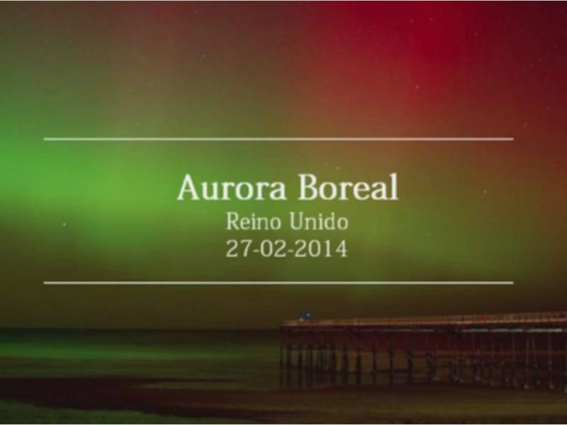 Aurora Boreal no Reino Unido