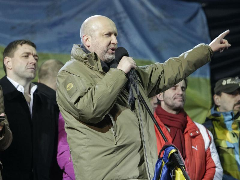 Presidente interino da Ucrânia, Oleksandr Turchinov (REUTERS/Konstantin Chernichkin)