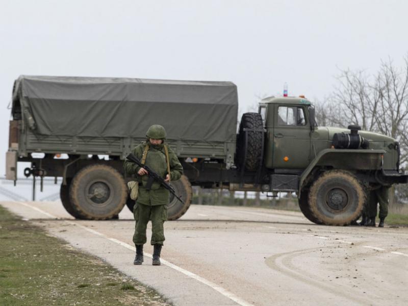 Tensão crescente na região da Crimeia (REUTERS)