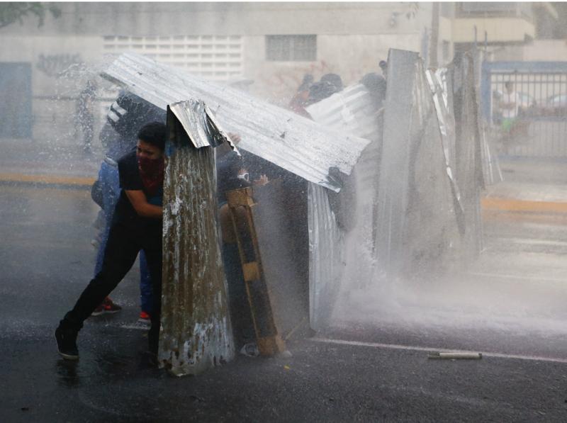 Protestos na Venezuela (REUTERS)