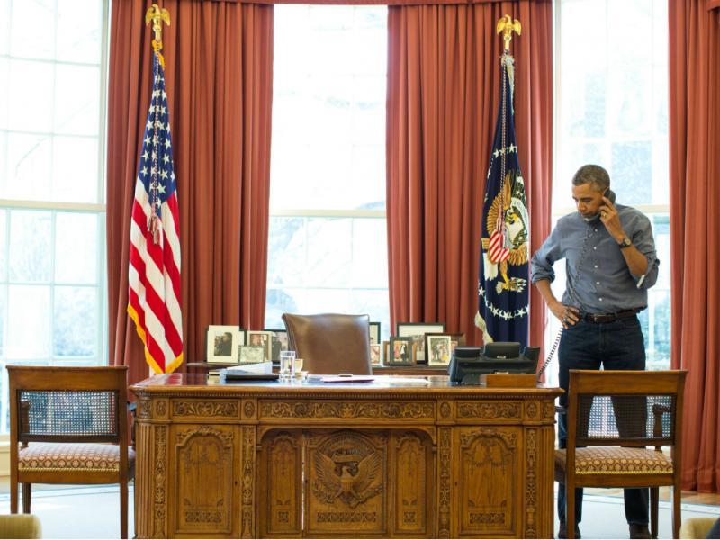 Barack Obama (Lusa/EPA Pete Souza)