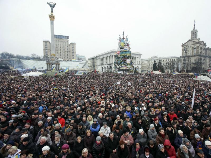 Ucrânia: manifestações contra a Guerra (Reuters)