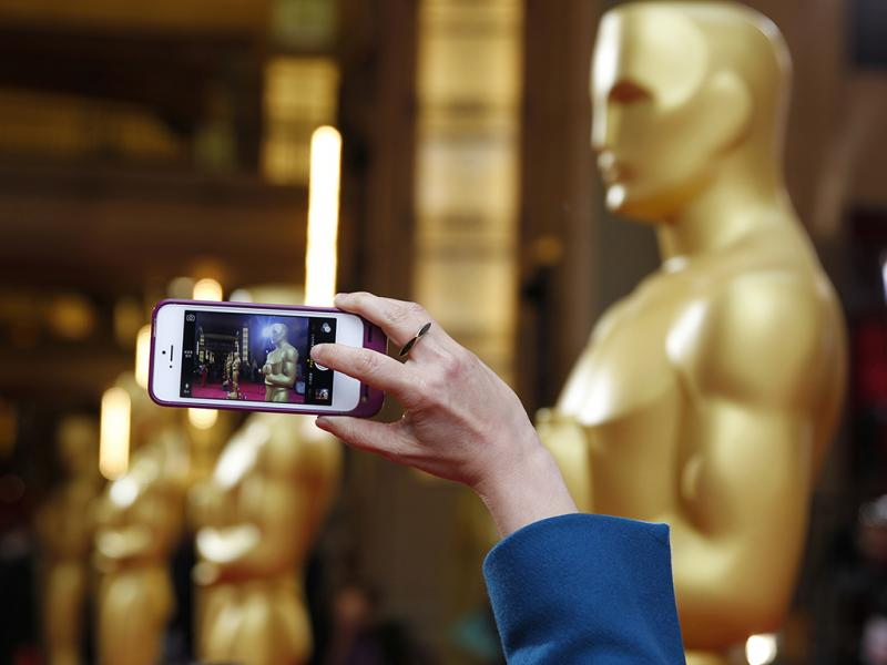 Os últimos preparativos para a cerimónia dos Óscares 2014 (REUTERS)