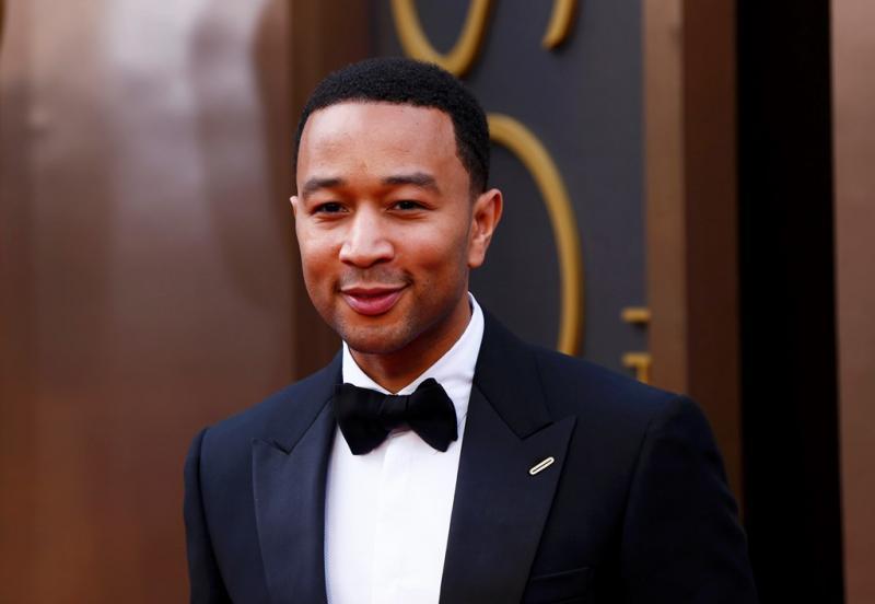 John Legend   - 86ª Cerimónia de entrega dos Óscares da Academia Foto: Reuters