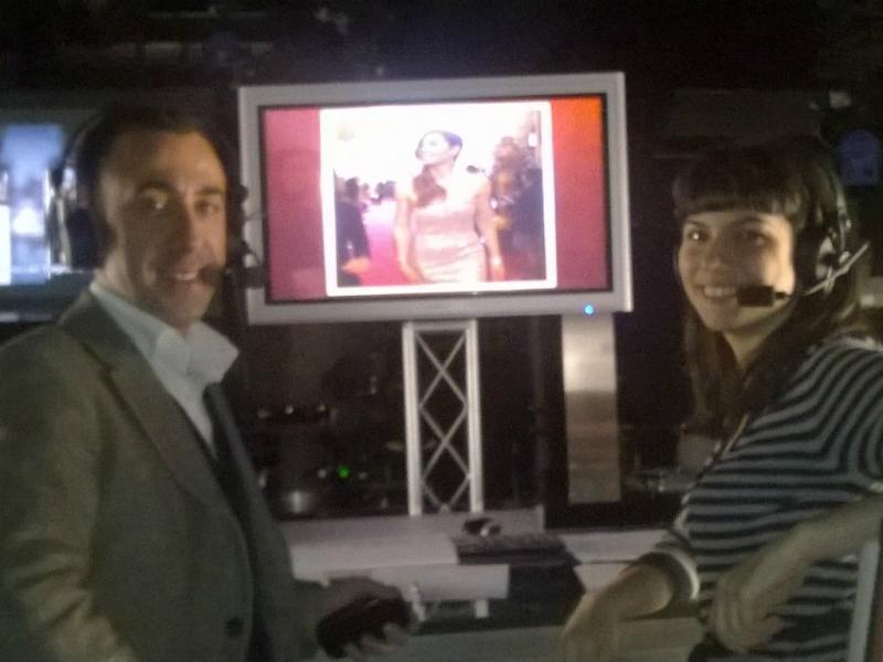 Vítor Moura e Maria João Rosa a postos para comentar a cerimónia dos Óscares 2014