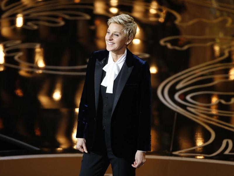 Ellen Degeneres apresenta os Óscares 2014 (REUTERS)