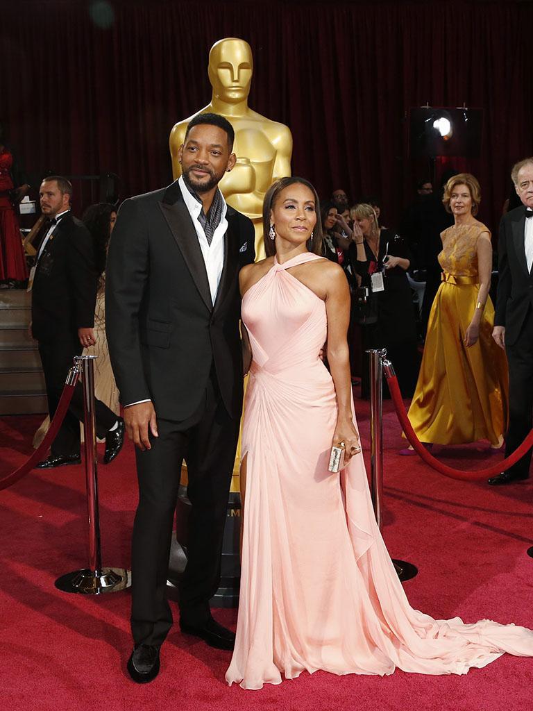 Will Smith na passadeira vermelha dos Óscares 2014 (REUTERS)