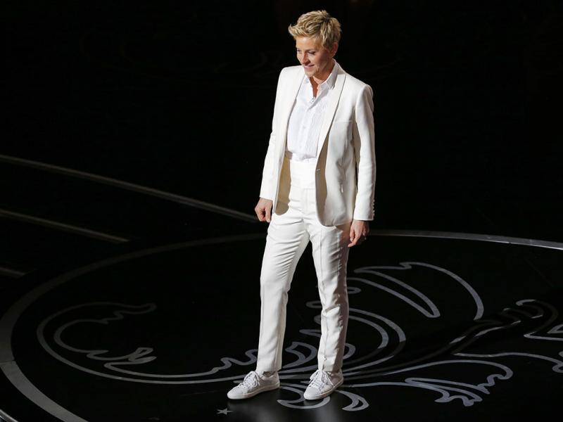 Ellen Degeneres na Cerimónia dos Óscares 2014 (REUTERS)
