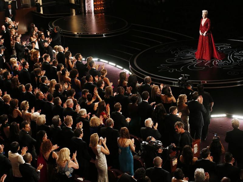 Pink na Cerimónia dos Óscares 2014 (REUTERS)