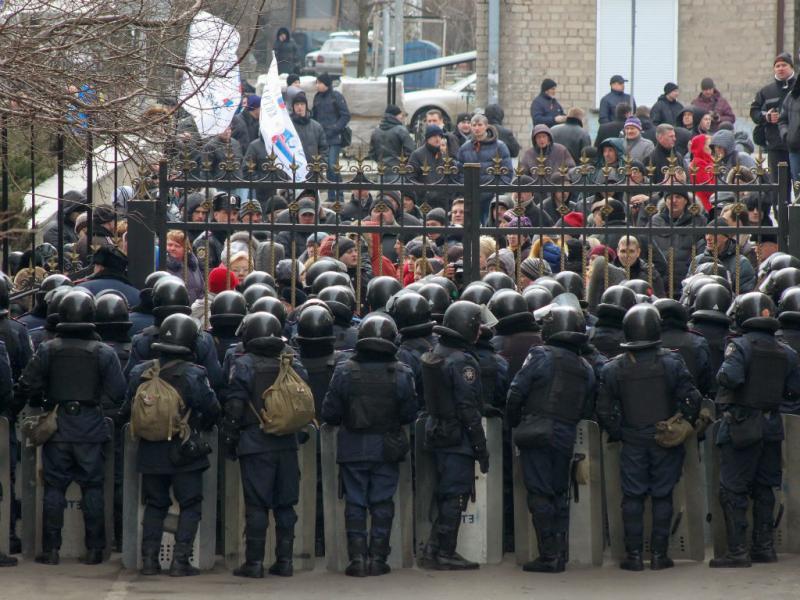 Pró-russos tentaram ocupar Administração regional de Donetsk (Lusa)