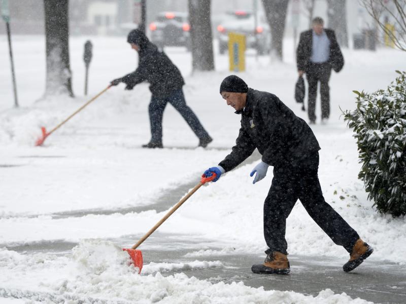 Tempestade de neve em Washington