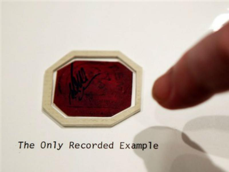 Selo mais raro do mundo vai ser leiloado (REUTERS/ Eduardo Munoz)