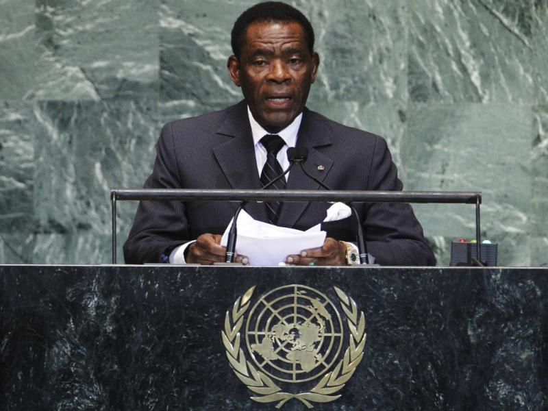 Teodoro Obiang, presidente da Guiné Equatorial (Reuters)