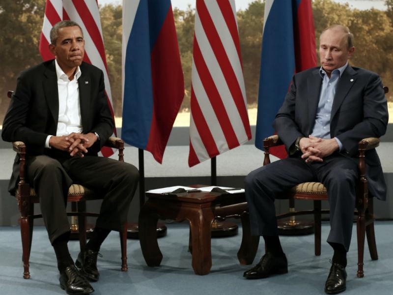 Barack Obama e Vladimir Putin (REuters)