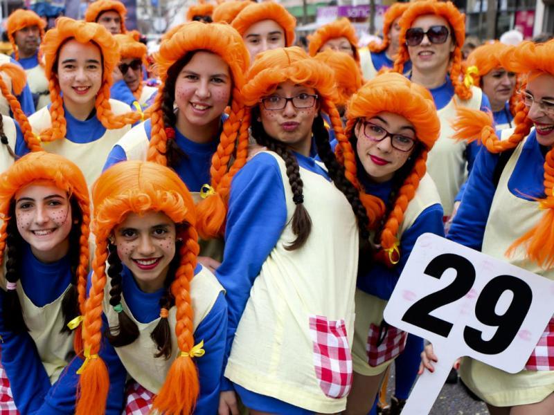 Carnaval de Torres Vedras 2014 (Lusa)