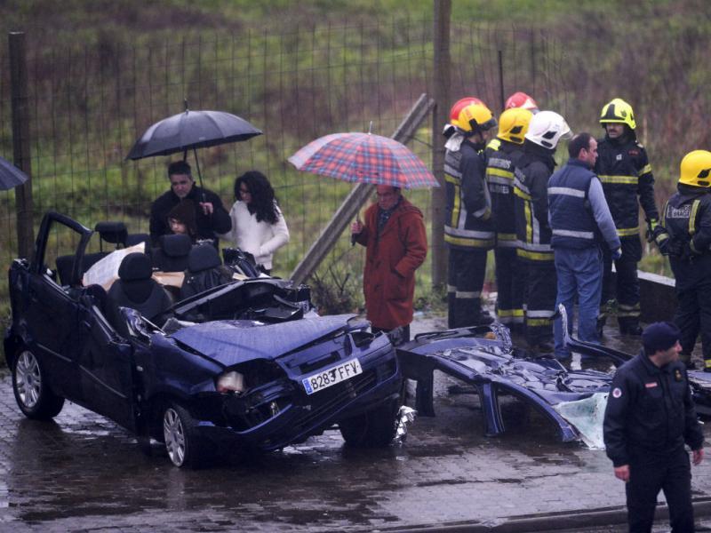 Despiste de viatura em Braga causou um morto (Lusa)
