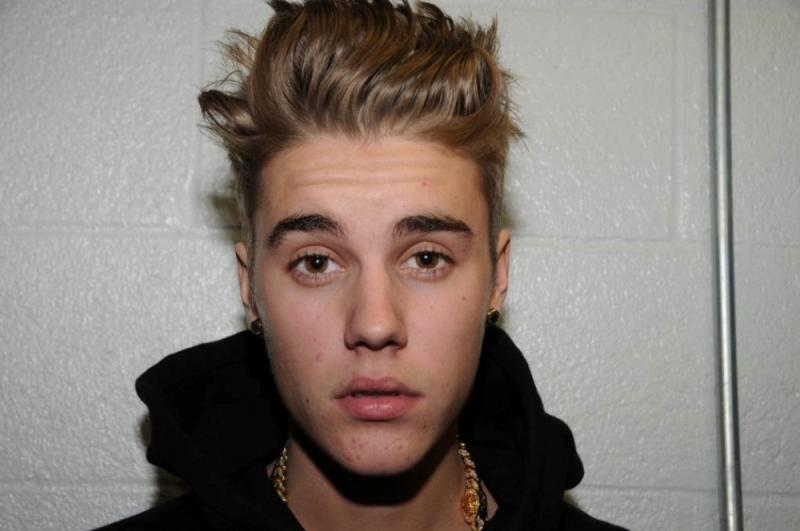 Polícia de Miami divulga fotos de Justin Bieber na esquadra (Foto: Reuters)