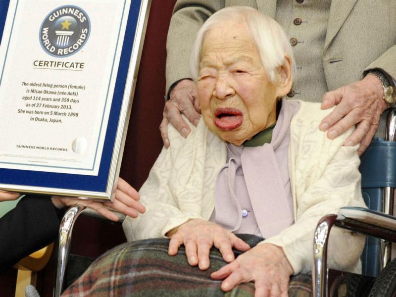 Misao Okawa (Reuters)
