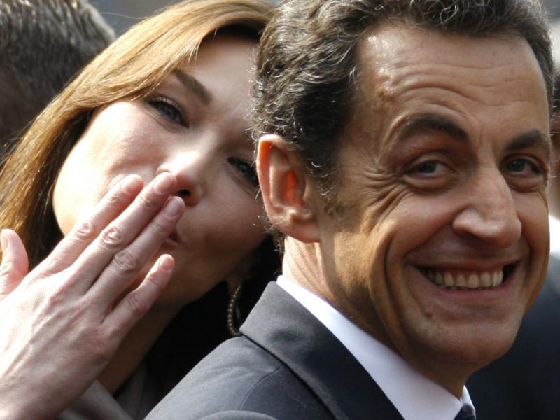 Nicolas Sarkozy e Carla Bruni (Reuters)
