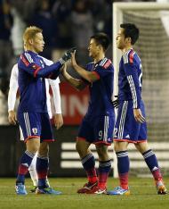 Japão marca quatro à Nova Zelândia a aquecer para o Mundial (Reuters)